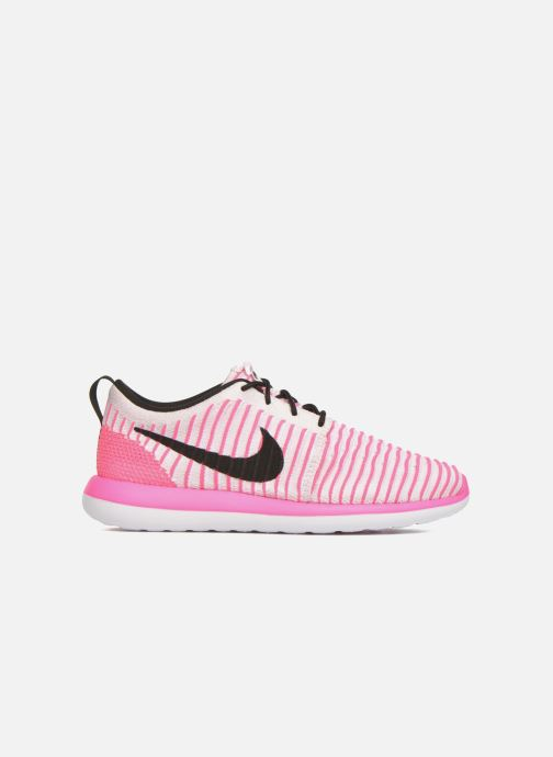 Trainers Nike Nike Roshe Two Flyknit (Gs) Pink back view