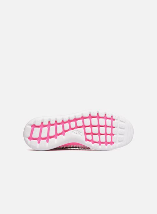 Trainers Nike Nike Roshe Two Flyknit (Gs) Pink view from above