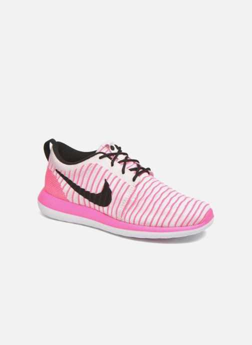 Baskets Nike Nike Roshe Two Flyknit (Gs) Rose vue détail/paire