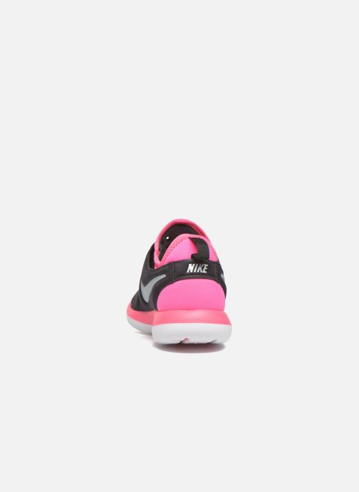 Trainers Nike Nike Roshe Two (Gs) Black view from the right