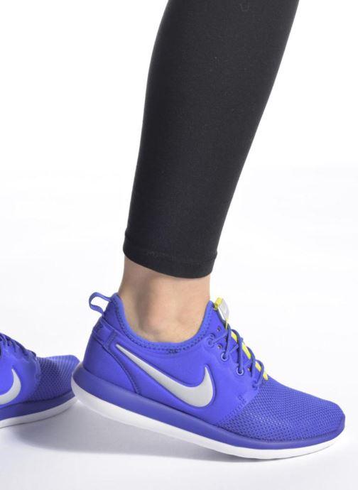 Deportivas Nike Nike Roshe Two (Gs) Violeta      vista de abajo