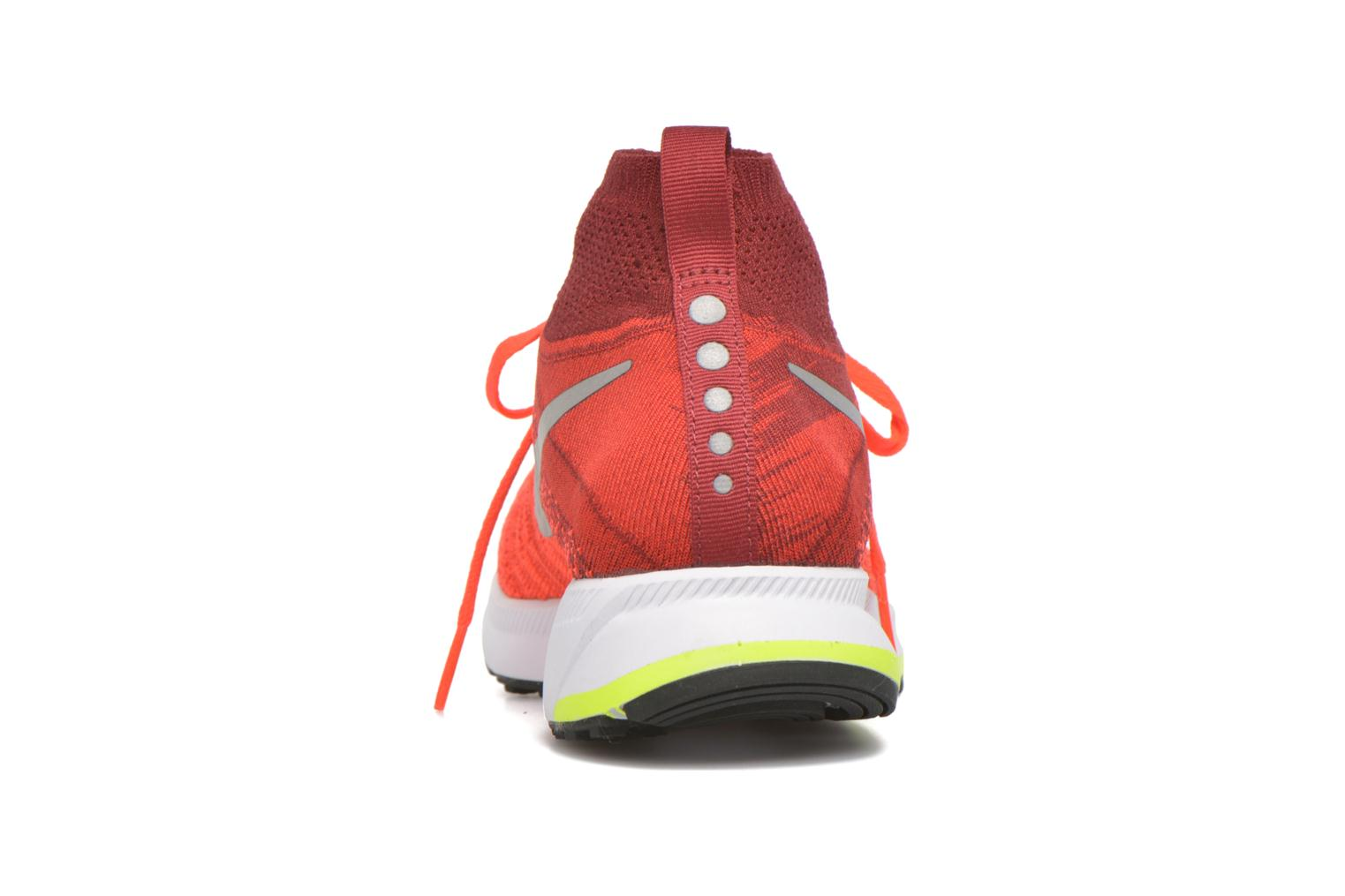 Sneakers Nike Zm Pegasus All Out Flyknit Gs Rood rechts