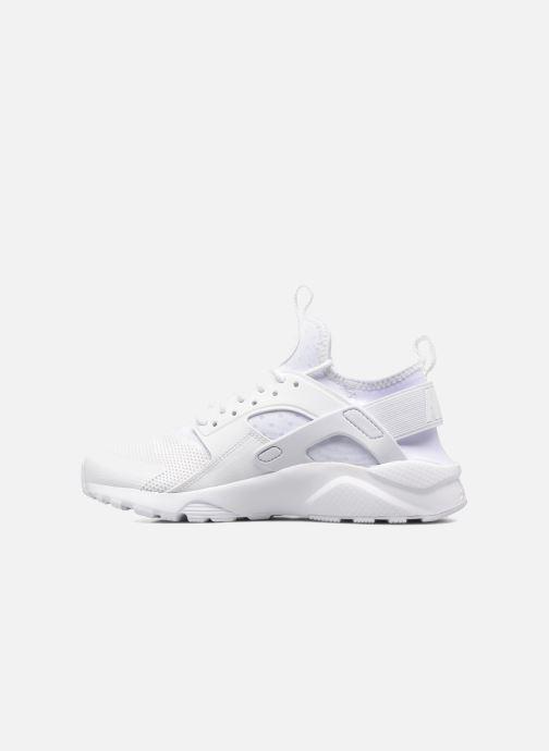 Baskets Nike Nike Air Huarache Run Ultra Gs Blanc vue face