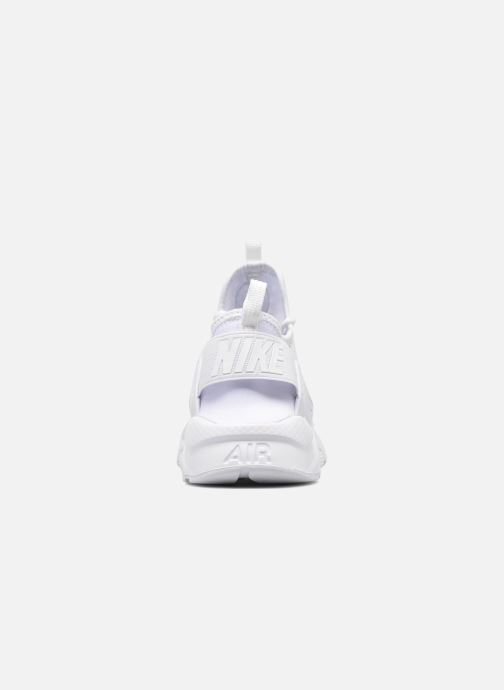 Baskets Nike Nike Air Huarache Run Ultra Gs Blanc vue droite