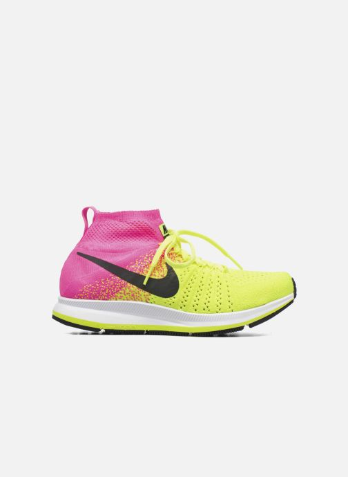 Deportivas Nike Zm Peg All Out Flyknit Oc Gs Negro vistra trasera