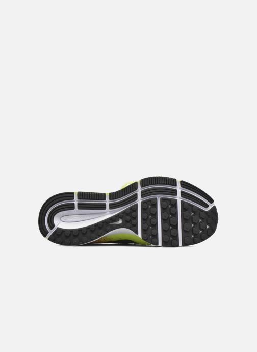 Trainers Nike Zm Peg All Out Flyknit Oc Gs Black view from above