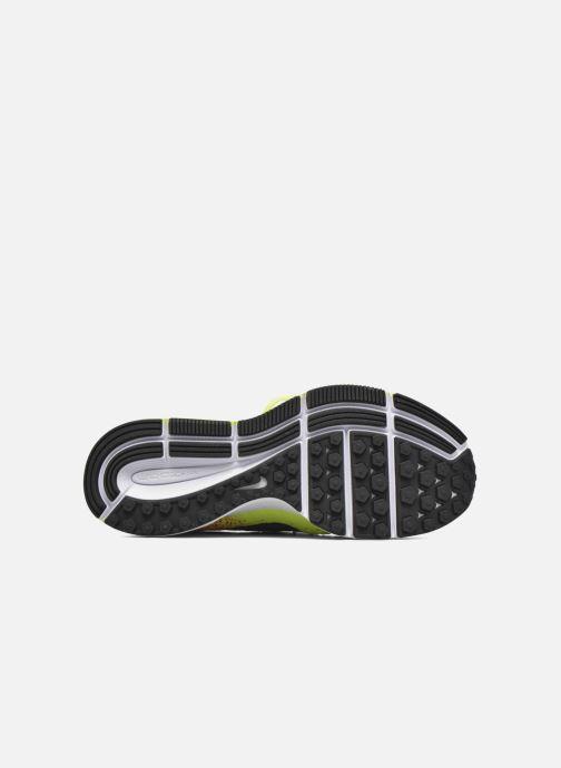 Sneaker Nike Zm Peg All Out Flyknit Oc Gs schwarz ansicht von oben