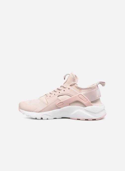 Sneaker Nike Air Huarache Run Ultra PRM GS rosa ansicht von vorne