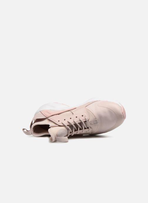 Sneaker Nike Air Huarache Run Ultra PRM GS rosa ansicht von links