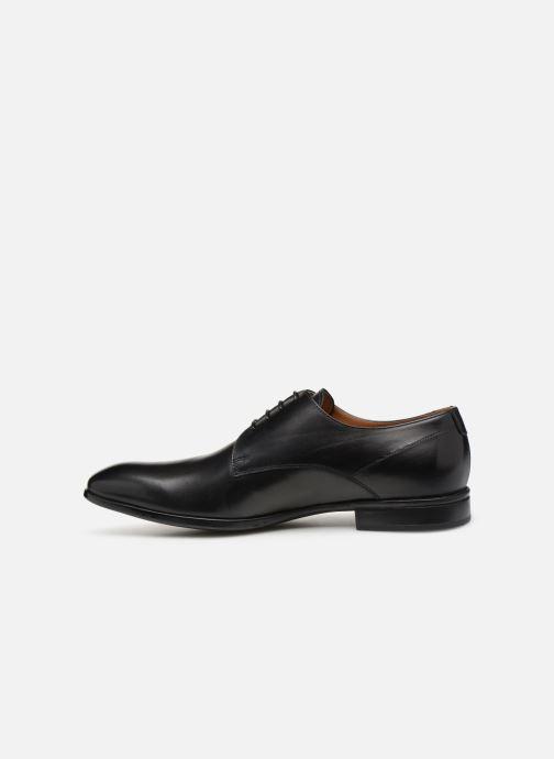 Zapatos con cordones Doucal's Omar Vichy Negro vista de frente