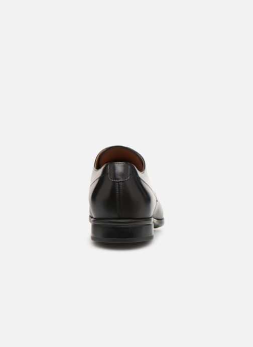 Lace-up shoes Doucal's Omar Vichy Black view from the right
