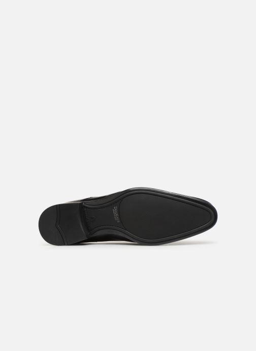 Chaussures à lacets Doucal's Omar Vichy Noir vue haut