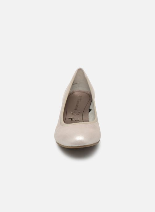 Escarpins Tamaris Ajonc Argent vue portées chaussures