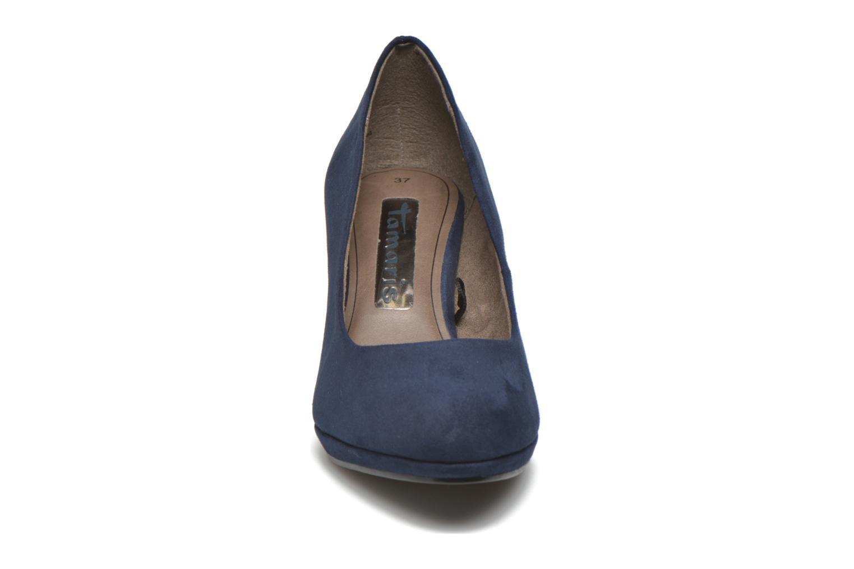 Escarpins Tamaris Cajanus Bleu vue portées chaussures