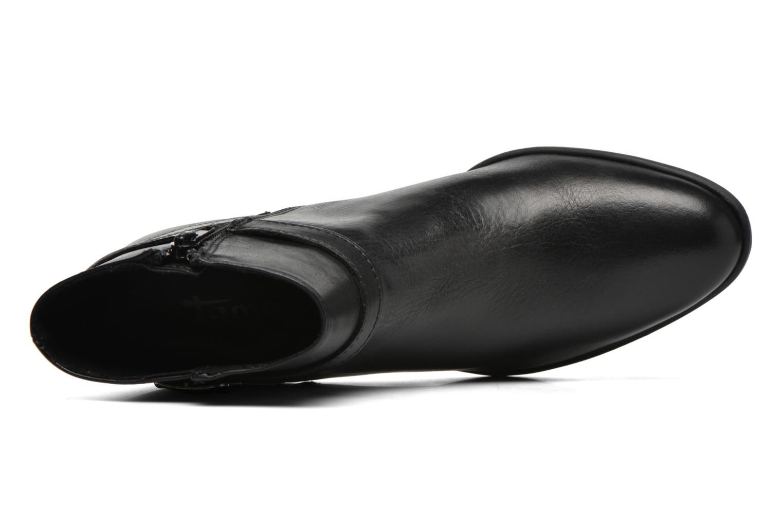 Bottines et boots Tamaris Lagunaria Noir vue gauche