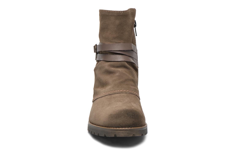 Bottines et boots Tamaris Massonia Marron vue portées chaussures