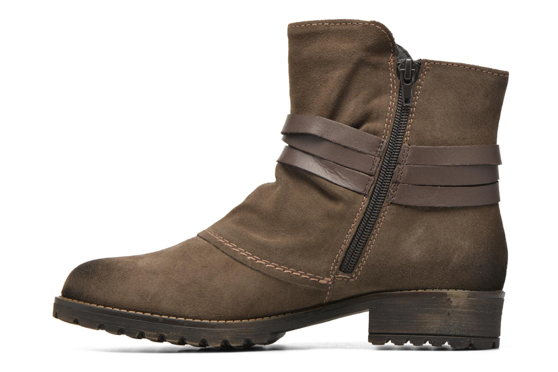 Bottines et boots Tamaris Massonia Marron vue face