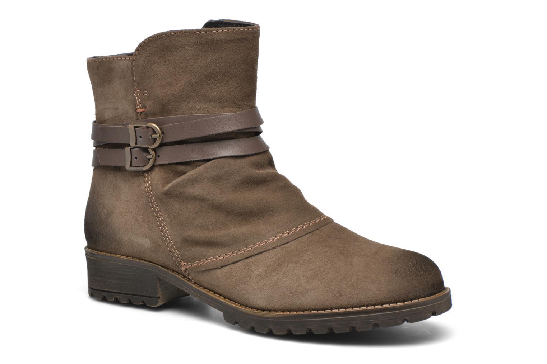 Bottines et boots Tamaris Massonia Marron vue détail/paire
