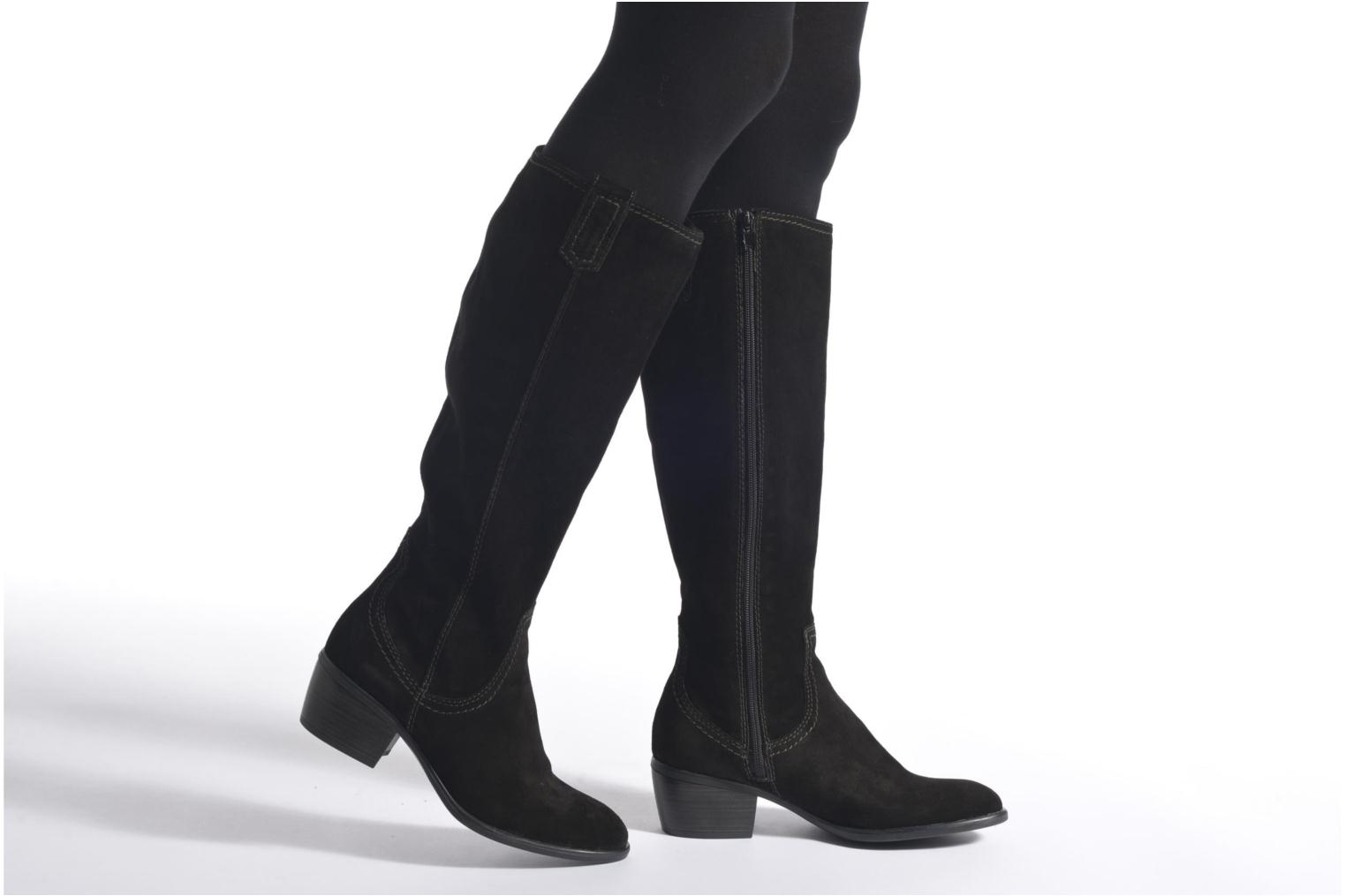 Boots & wellies Tamaris Nerine Black view from underneath / model view