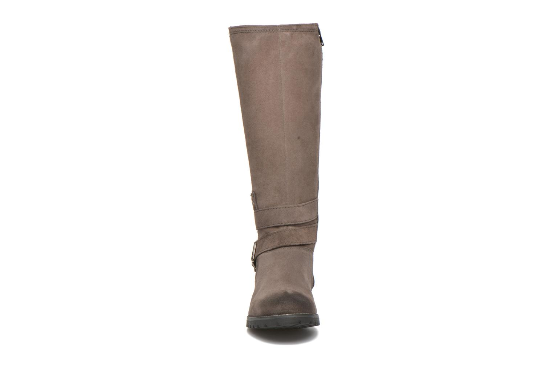 Bottes Tamaris Pavonia Gris vue portées chaussures