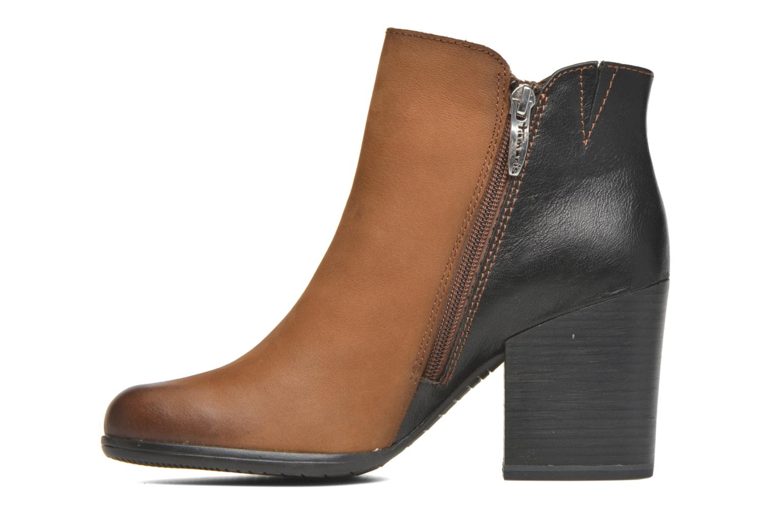 Ankle boots Tamaris Russelia Brown front view