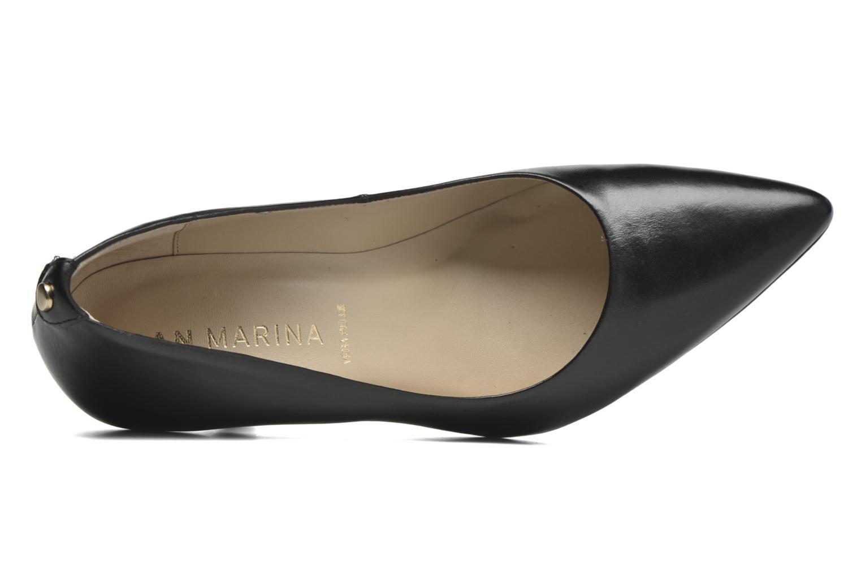 Zapatos de tacón San Marina Piel Negro vista lateral izquierda