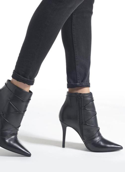 Bottines et boots San Marina Gama Noir vue bas / vue portée sac