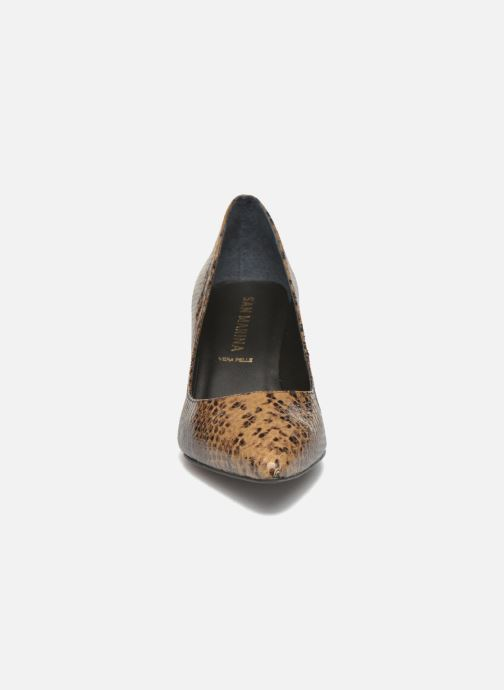 High heels San Marina Vigra/Serp Brown model view