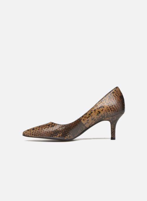 High heels San Marina Vigra/Serp Brown front view