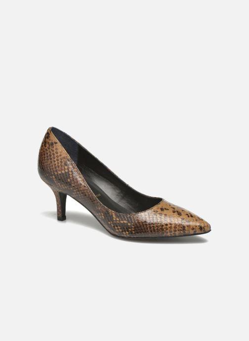 High heels San Marina Vigra/Serp Brown detailed view/ Pair view