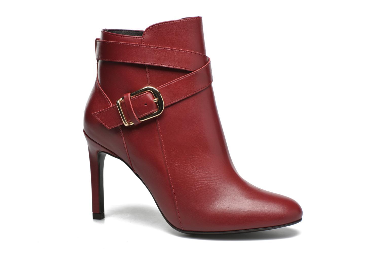 Ankelstøvler San Marina Adjarie Rød detaljeret billede af skoene
