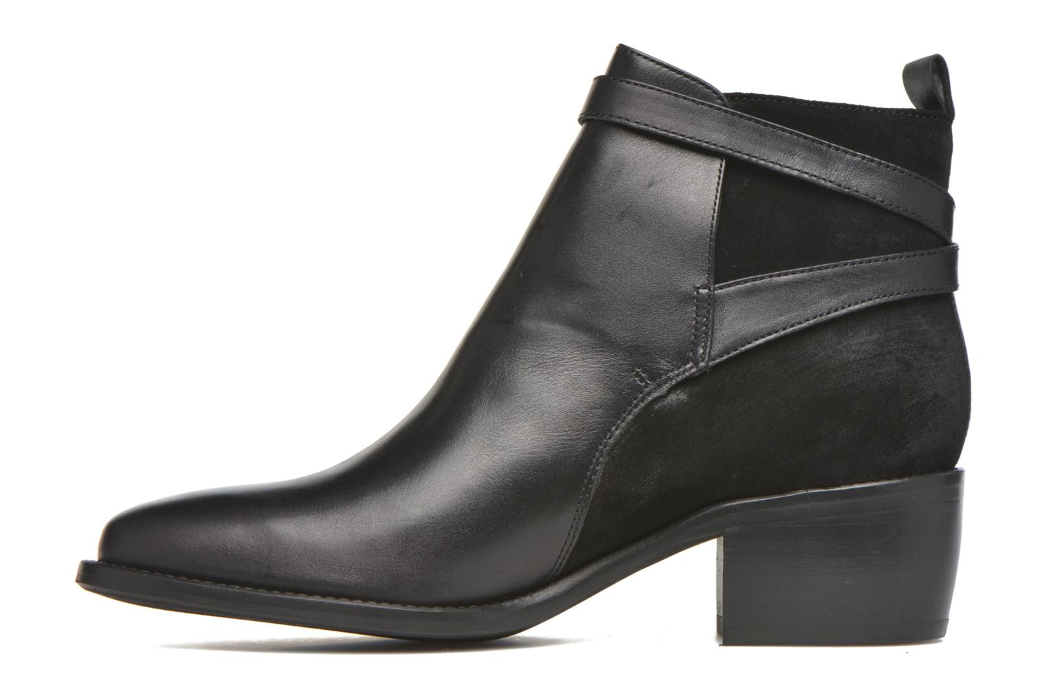 Ankle boots San Marina Ascoli Black front view
