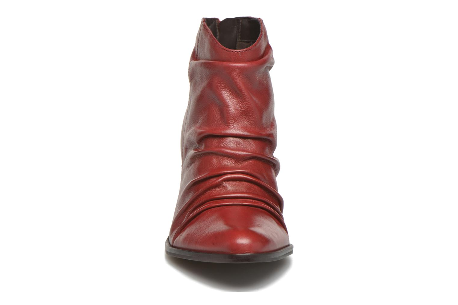 Ankle boots San Marina Macaria Red model view