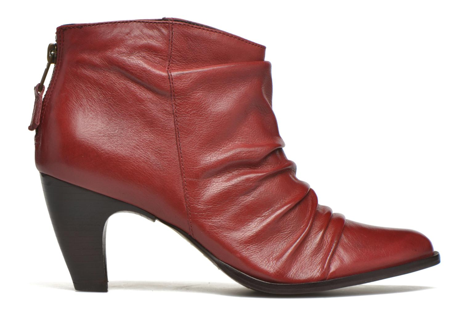 Ankle boots San Marina Macaria Red back view