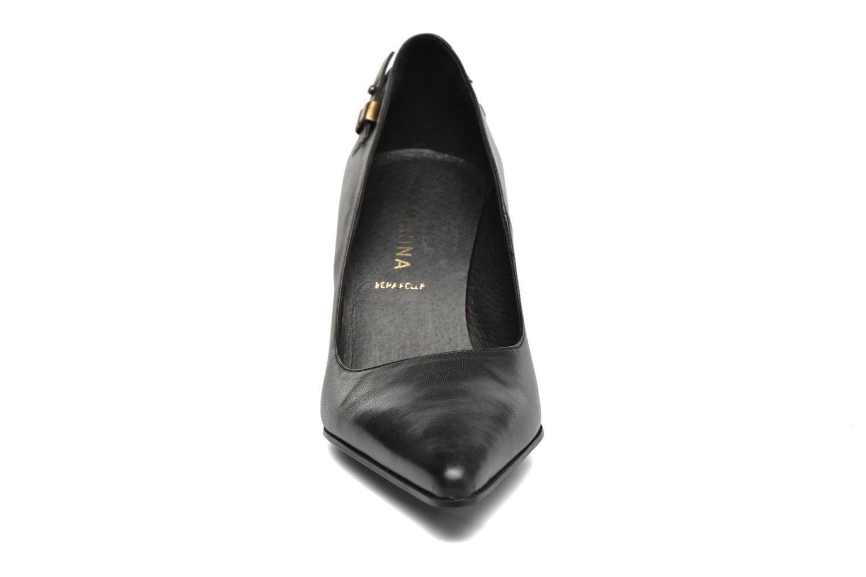 Escarpins San Marina America Noir vue portées chaussures