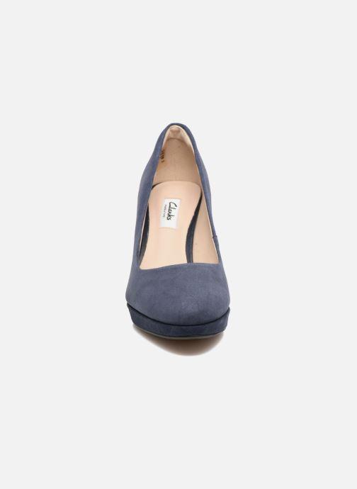 Escarpins Clarks Kendra Sienna Bleu vue portées chaussures