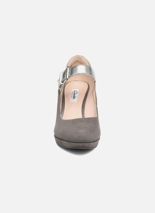 High heels Clarks Kendra Gaby Grey model view