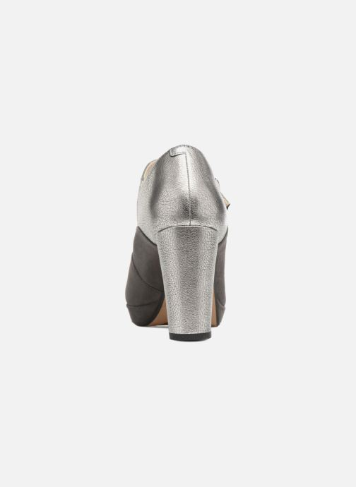 High heels Clarks Kendra Gaby Grey view from the right