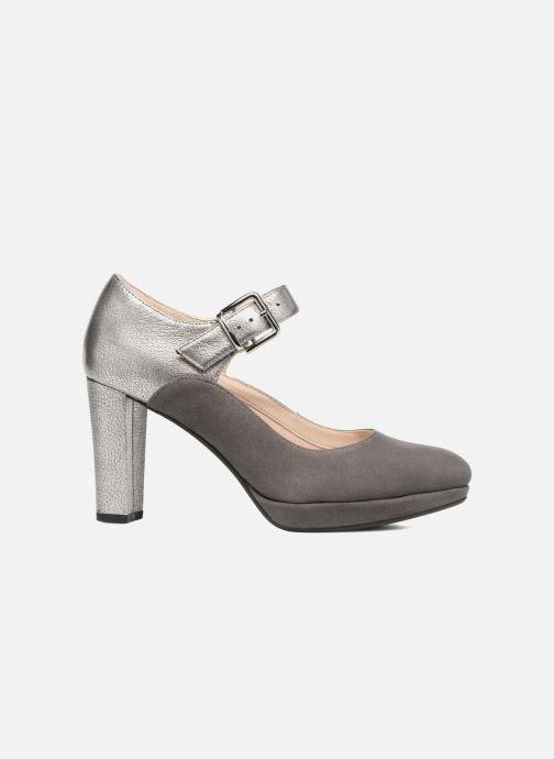 High heels Clarks Kendra Gaby Grey back view