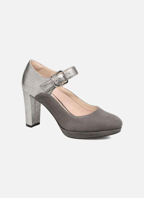 High heels Clarks Kendra Gaby Grey detailed view/ Pair view