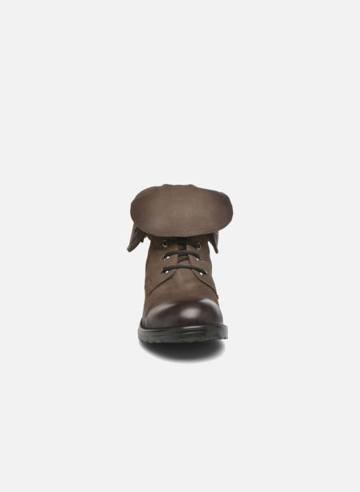 Bottines Boots Clarks River Leather Minoa Taupe Et pSzMVUGq
