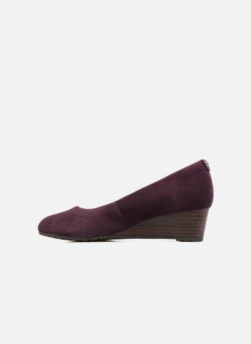 Pumps Clarks Vendra Bloom Paars voorkant