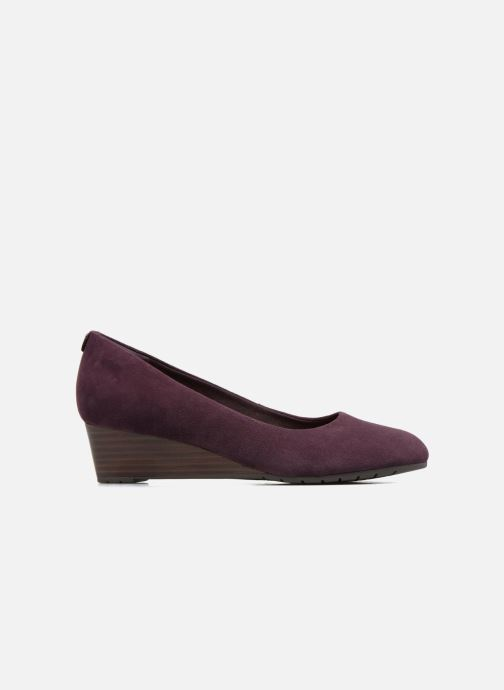 Pumps Clarks Vendra Bloom Paars achterkant