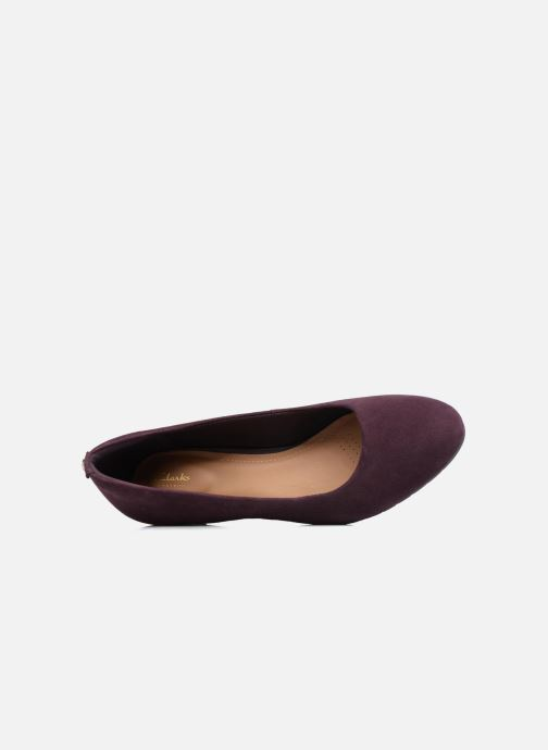 Pumps Clarks Vendra Bloom Paars links