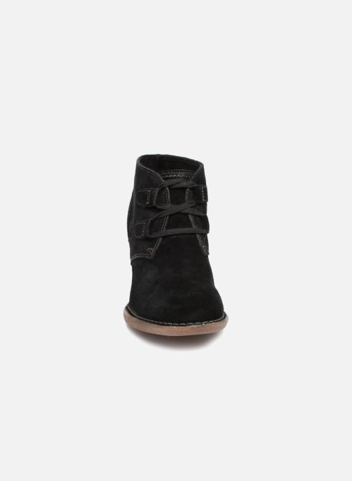 Bottines et boots Clarks Carleta Lyon Noir vue portées chaussures