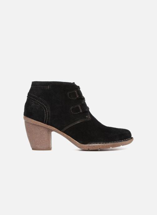 Bottines et boots Clarks Carleta Lyon Noir vue derrière