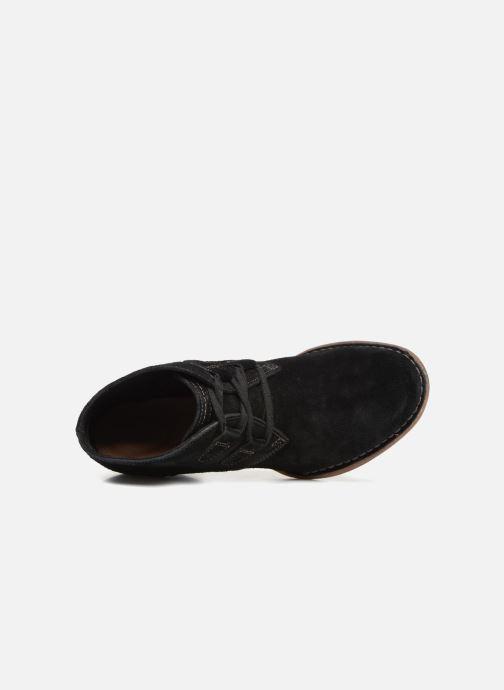 Bottines et boots Clarks Carleta Lyon Noir vue gauche