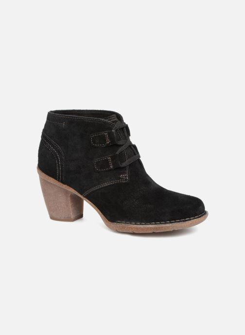 Bottines et boots Clarks Carleta Lyon Noir vue détail/paire