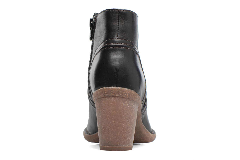 Bottines et boots Clarks Carleta Paris Noir vue droite