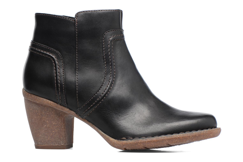 Bottines et boots Clarks Carleta Paris Noir vue derrière